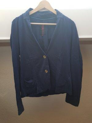 Tom Tailor Denim Sweat Blazer dark blue