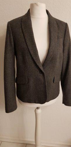 Mango Short Jacket grey-brown