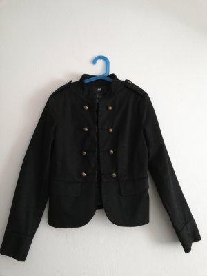 H&M Blazer en jersey noir