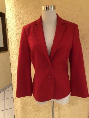 Mexx Jersey Blazer rojo ladrillo