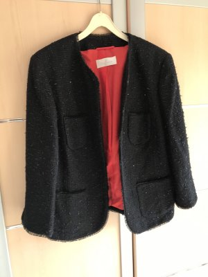 ae elegance Wool Blazer black-red