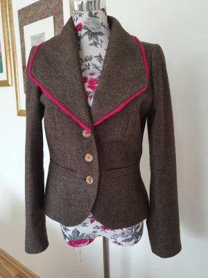 Nicowa Tweed Blazer grey-magenta