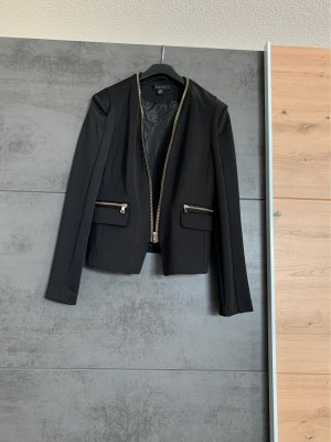 Amisu Tuxedo Blazer black-gold-colored