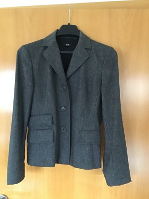 Hugo Boss Blazer in lana marrone-grigio Lana vergine
