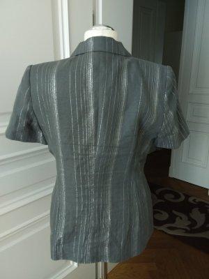 Givenchy Krótka marynarka srebrny-szary