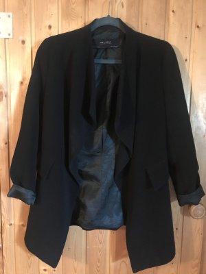 Zara Basic Knitted Blazer black