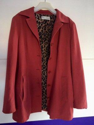 Dolce & Gabbana Blazer boyfriend rouge carmin
