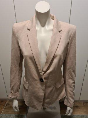 H&M Klassischer Blazer stoffig roze
