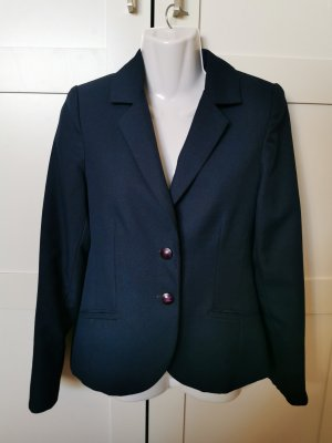 100% Fashion Korte blazer petrol