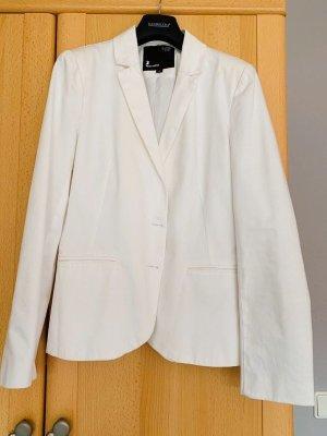 Tally Weijl Blazer en tweed blanc