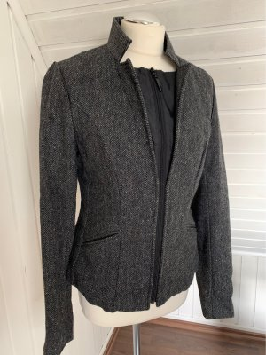 Mexx Tweed blazer antraciet