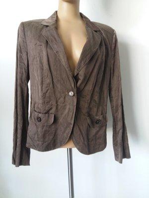 Luisa Cerano Sweat Blazer grey brown wool