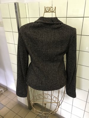Blazer en tweed taupe
