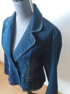 XFN Blazer en jean bleu pâle-bleu foncé