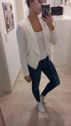 H&M Blazer corto blanco