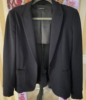 Strenesse Blazer in jersey blu scuro