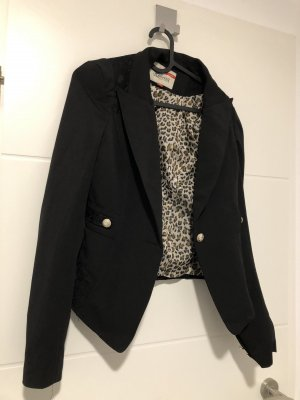 Blouse Jacket black-bronze-colored