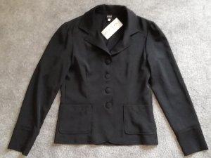 Ana Alcazar Klassischer Blazer noir polyester