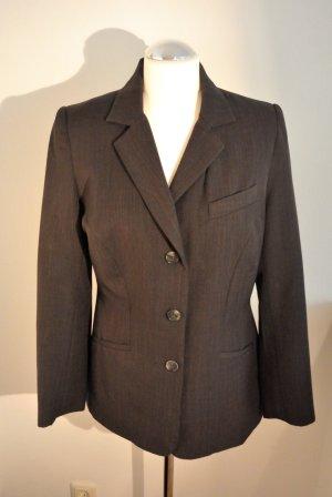 Hennes Collection by H&M Blazer gris antracita tejido mezclado
