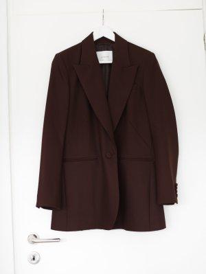 Blazer Anzug braun von Ivy & Oak Vintage Look Longblazer sustainable Gr. 40 Oversized