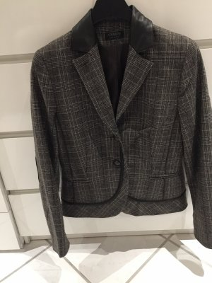 Apanage Blazer in pelle multicolore