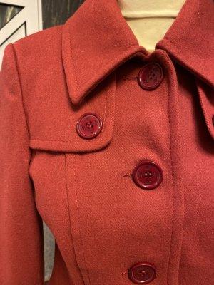 Blazer Apart Wolle, rot, NEU LUXUS Gr. 36