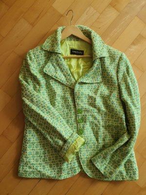 Blazer, Apfelgrün, gewebt, Tweedblazer
