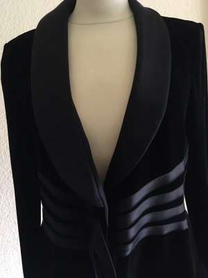 Armani Collezioni Blazer court noir polyester