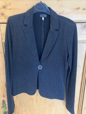 Armani Jeans Jersey Blazer dark blue-black