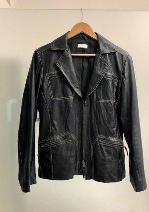 Bonita Leather Blazer black leather