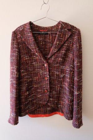 Rena Lange Tweed Blazer multicolored
