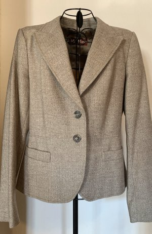 Max Mara Trouser Suit beige new wool