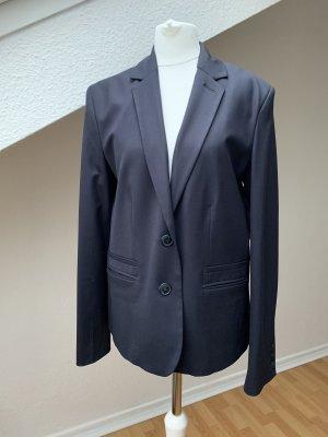Cyrillus PARIS Wool Blazer dark blue wool