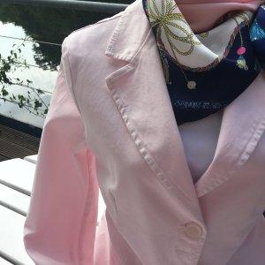 Aust Blazer en jean rose clair coton