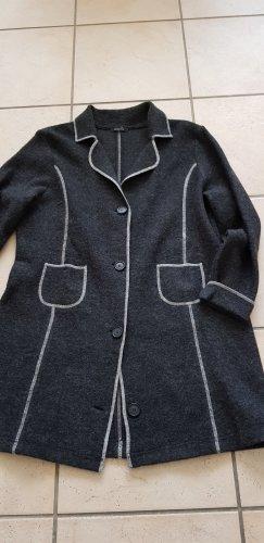 Blazer in maglia antracite