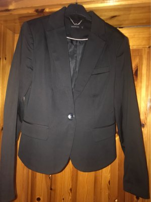 Reserved Blazer de esmoquin negro