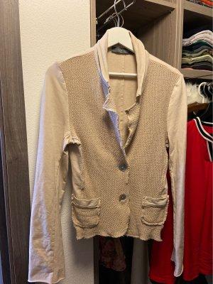 Chic & Mit Jersey blazer beige-lichtbruin