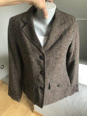Biaggini Blazer en laine brun-marron clair
