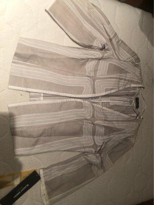 Blacky Dress Krótka marynarka jasnobeżowy-beżowy