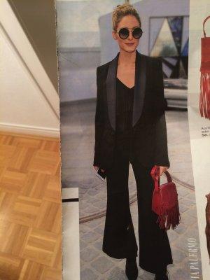 Mango Suit Blazer de esmoquin negro Fibra sintética