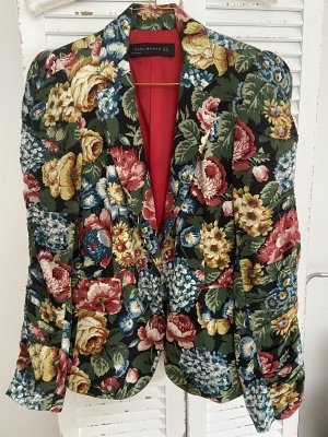 Blazer Blumenprint Zara Neu