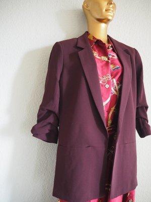 H&M Lange blazer bordeaux