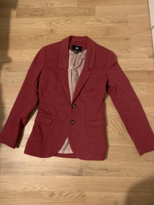H&M Blazer en laine bordeau