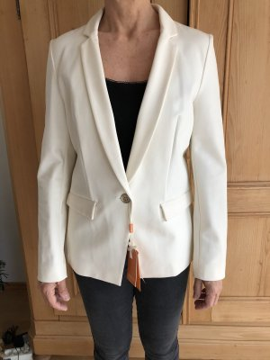 Boss Orange Long Blazer cream