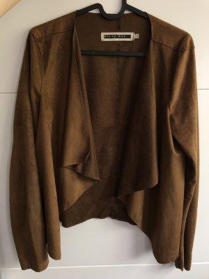 Noisy May Jersey Blazer brown-dark brown