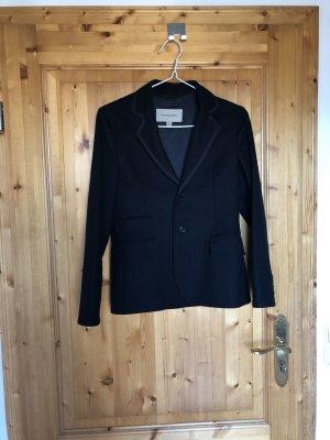 Burberry Blazer de lana negro