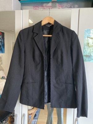 Basic Line Klassischer Blazer black