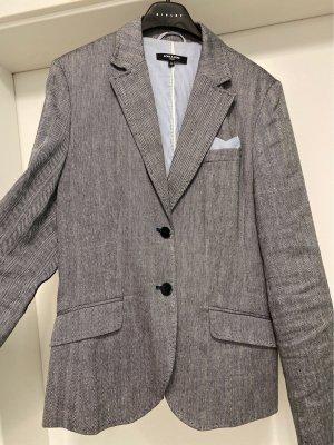More & More Klassischer Blazer noir-gris clair