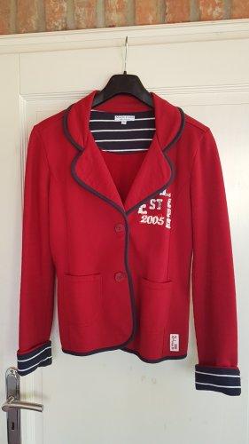 Marie Lund Blazer sweat rosso-rosso scuro