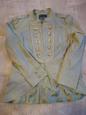 Melrose Korte blazer groen-grijs-khaki